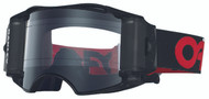OAKLEY AIRBRAKE GOGGLE RACE READY FACTORY B1B RED/BLACK - CLEAR LENS