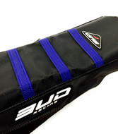 BUD RACING Seat Cover KTM 125 SX 2016>, 250, 250, 450 SXF 2016, Black with Blue Stripes