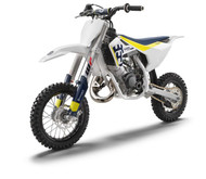 Husqvarna TC50 2017 on Talon Complete Big Wheel Kit Blue Rims Gold Hubs