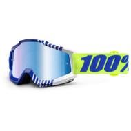 100% ACCURI GOGGLES - SUNDANCE - MIRROR BLUE LENS