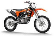 KTM SXF 350 2011 Standard Factory Graphic diecast model bike 1:12 Scale