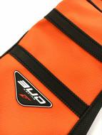 BUD RACING Seat Cover KTM 125 SX 2016>, 250, 350, 450 SXF 2016 Orange with Black Stripes