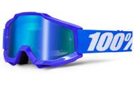 100% Accuri Goggles - Mirror Reflex Blue - Mirror Blue Lens