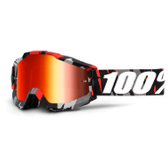 100% Accuri Goggles - Magemo - Mirror Red Lens