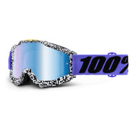 100% Accuri Goggles - Brentwood - Mirror Blue Lens