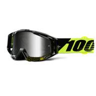 100% Racecraft Goggles - Cox - Mirror Silver Lens