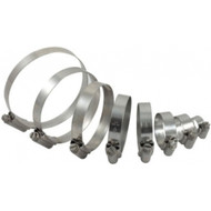 KTM 125 Mild Steel Hose Clamp Kit for Silicone Hose
