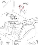 Tank Screw Collar Bush KTM 50, 65 Husqvarna TC 50, 65