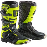 Gaerne SG-J Kids MX Boots, Black Yellow Fluo (2167-019)