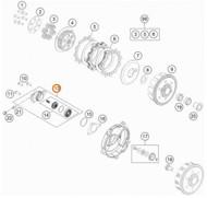 Clutch Slave Cylinder  KTM  65SX 2014-19 85SX 2013-17 Husqvarna TC65 2017-19 TC85 2014-17