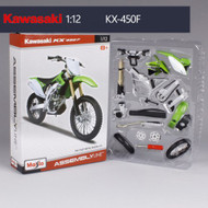 Model Kawasaki KX450F 1/12 scale 24pcs