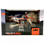 KTM 450 SX-F 2017 Marvin Musquin 1:12 Scale Toy