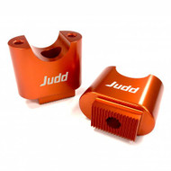 Judd Racing Handlebar Mounts - A Pair Of Orange High Rise Mounts for 3CL-003-OR Triple clamps