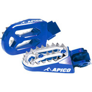 Apico KTM Pro Bite Footpeg - Blue