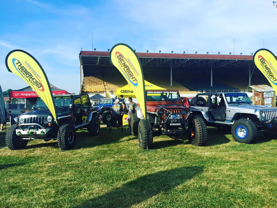 Recap Of 2016 All Breeds Jeep Show Genright Offroad