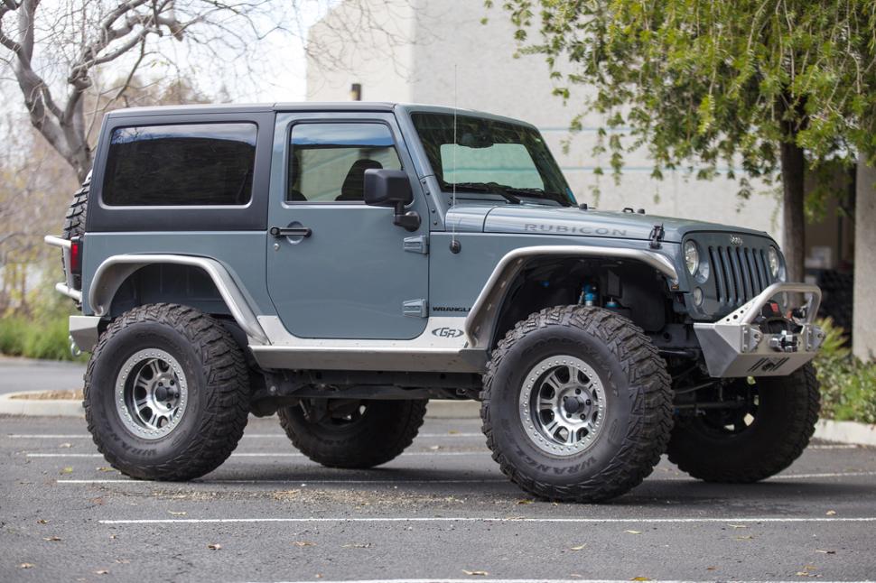 Jeep Wrangler Tj Build >> 2 Door Jeep JK Rubicon