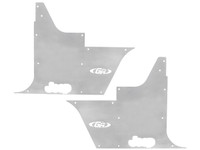 TJ/LJ Flak-Jacket Tub Panel Guards (w/o Hinge Cutouts) - Aluminum