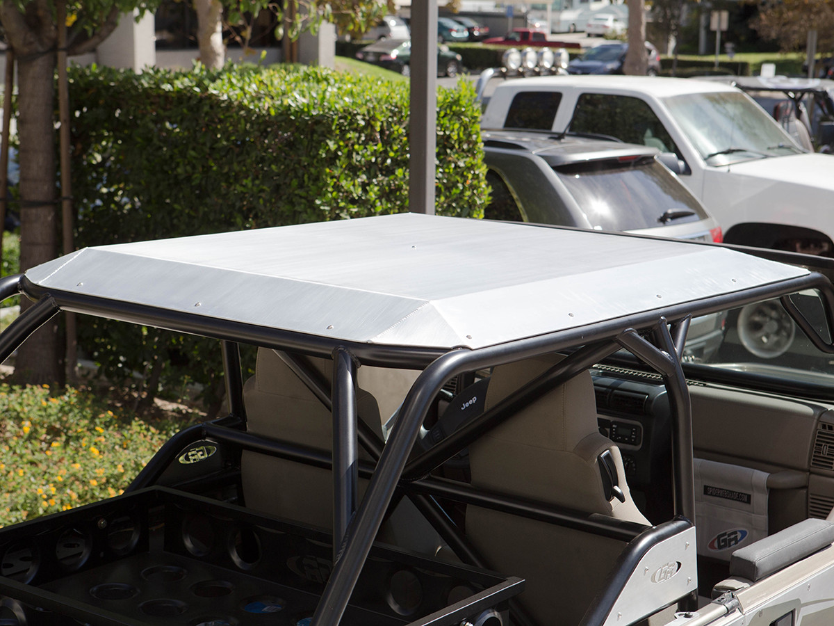 Lj Aluminum Roof For Genright Roll Cages Genright Jeep Parts