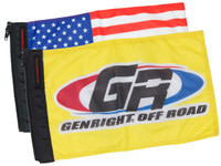 "ForeverWave 18""x12"" Interchangeable Flag System"