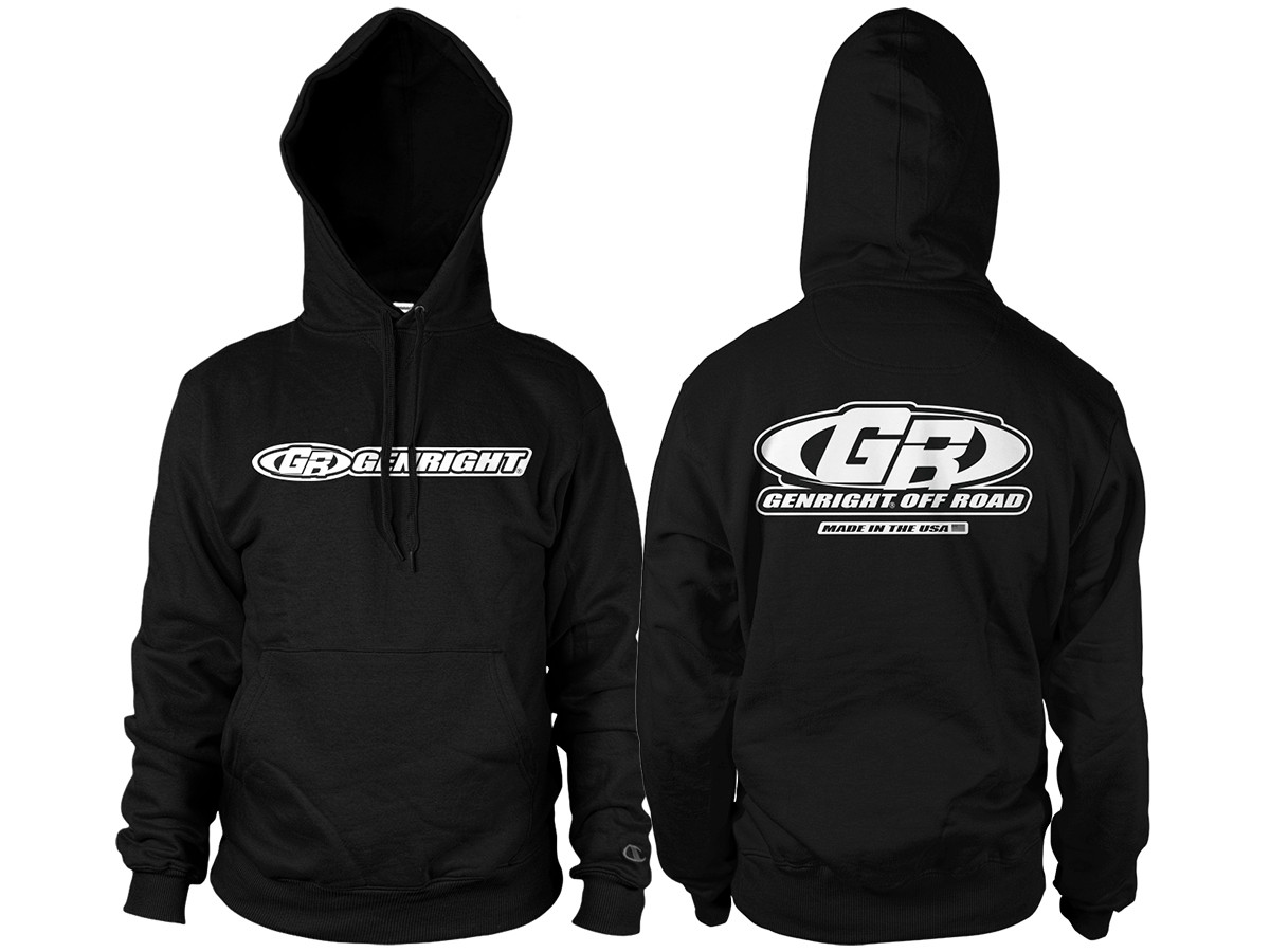 GenRight Factory Premium Hoody (Black)