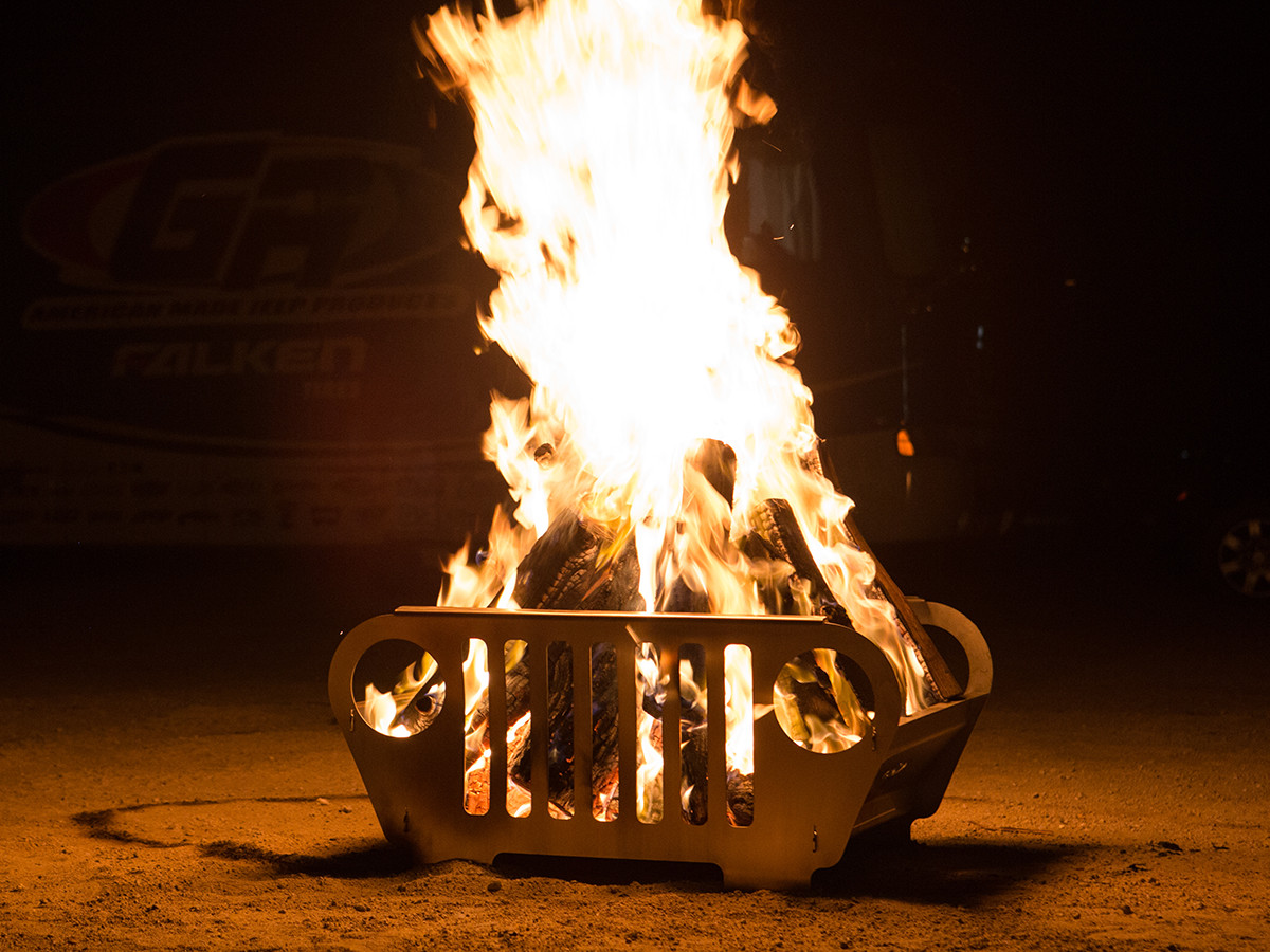 GenRight Jeep Grill Fire Pit has been thoroughly tested by our staff!
