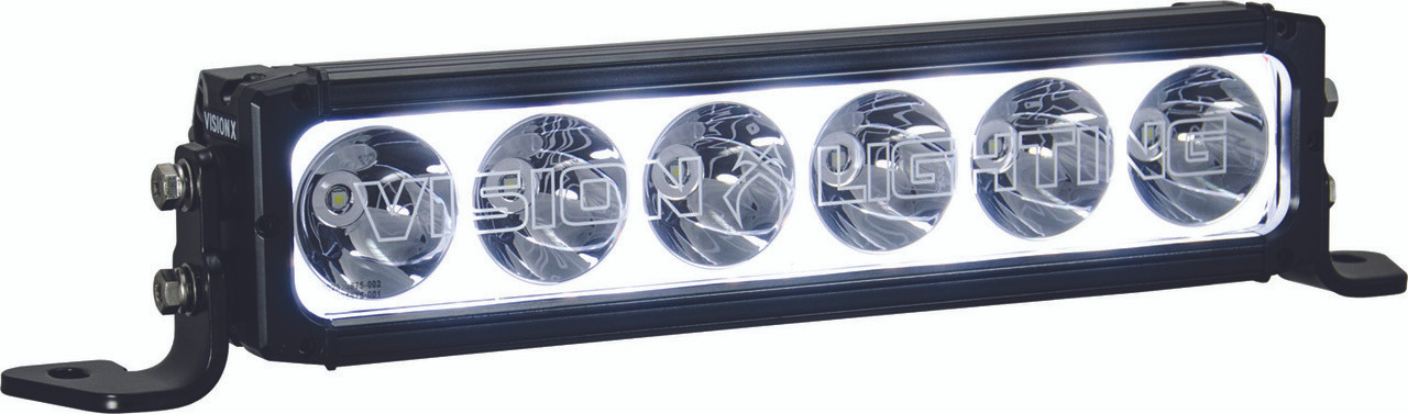 Visionx 12 led light bar vision x xpr 12 led light bar xpr h6s pictured with halo on mozeypictures Image collections