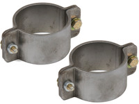 """2 Bolt Formed Tube Clamp - 2-1/4"""" (Pair)"""