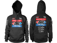 GenRight 2017 King of the Hammers Team Hoody Pullover (Charcoal Black)