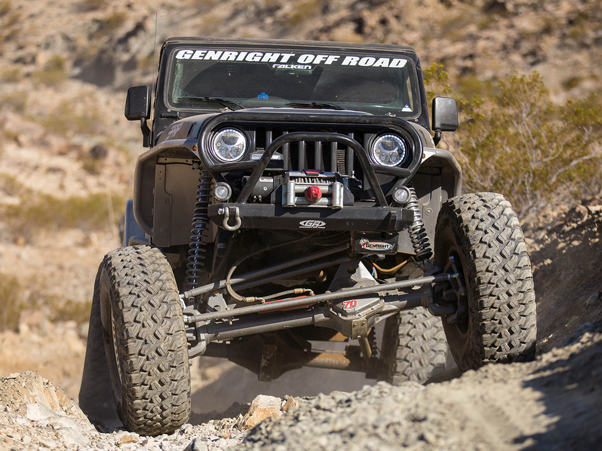 YJ Legend Comp Suspension/Build Package