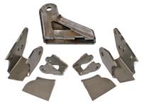 "JK Elite Front Axle Bracket Kit w/ HD Trac Bar mount for 3.5"" diameter axle tubes"