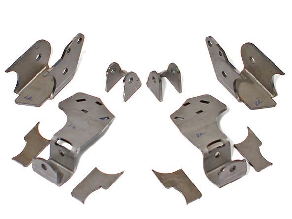 """JK Elite Rear axle brackets for 3"""" tube (RockJock 60)"""