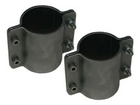 """4 Bolt Formed Tube Clamp - 2"""" (Pair)"""