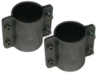"""4 Bolt Formed Tube Clamp - 2-1/4"""" (Pair)"""