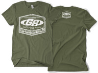 GenRight Classic Emblem Tee (Military Green)