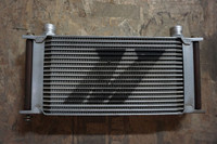 Front of Hi performance oil cooler