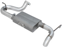 "Scorpion 2-1/2"" Aluminized Steel Axle-Back Exhaust System (JK - 07-18 V6-3.8L/3.6L)"