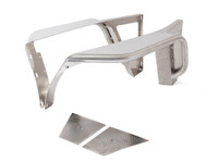 "TFF2710 - TJ/LJ Aluminum Front Tube Fenders with 4"" Flare"