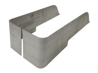 CJ-5 Corner Guard Blanks - Steel