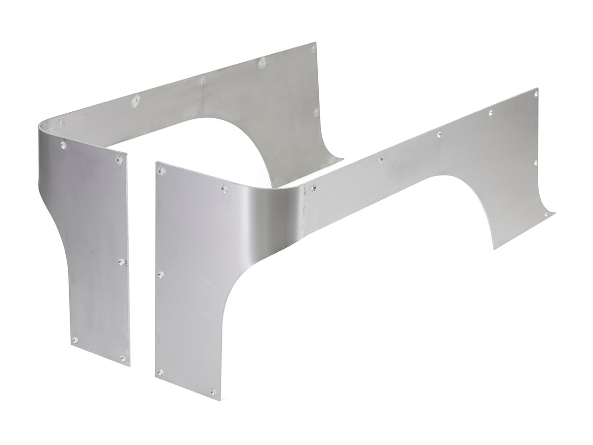 Aluminium Corner Guards : Tj yj cj comp cut corner guards aluminum genright