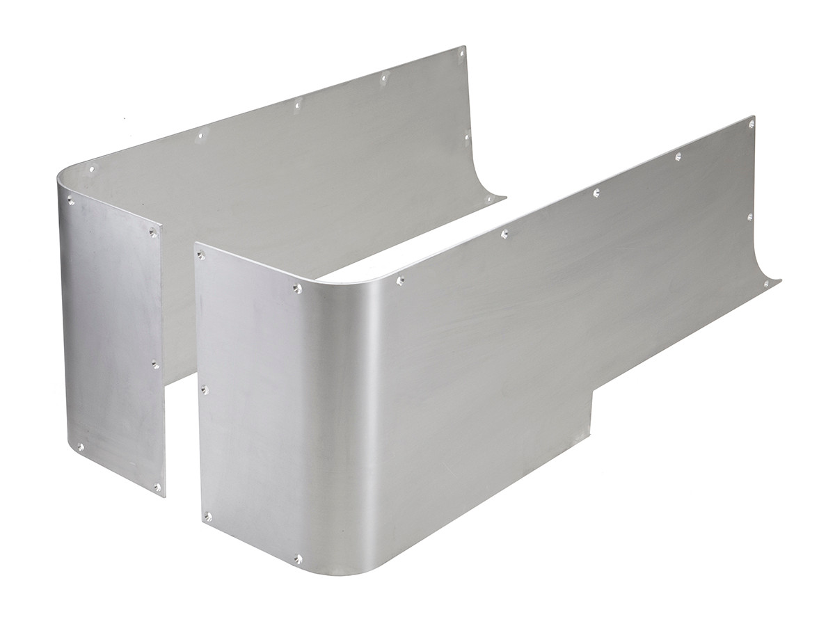 Aluminium Corner Guards : Corner guard blanks aluminum genright jeep parts