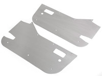 "3/16"" Aluminum Skins for the Factory Jeep 1/2 doors"