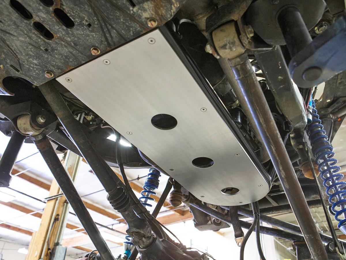 Engine Transmission Skid Plate Kit Genright Jeep Parts