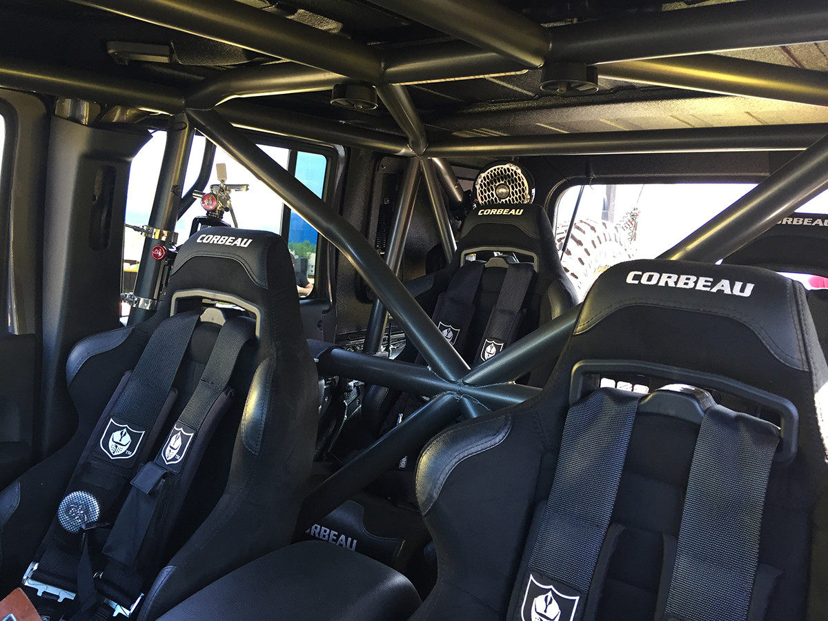 Jk 4 Door Full Roll Cage Kit Genright Jeep Parts