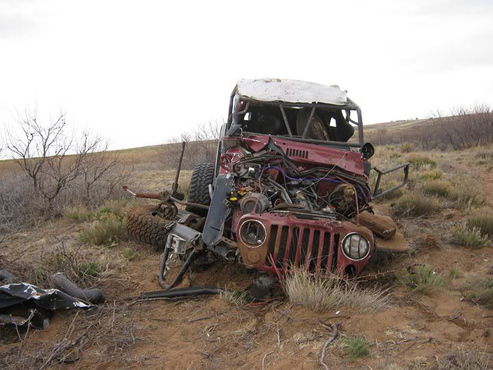How tough is the GenRight roll cage? We think it did pretty good!