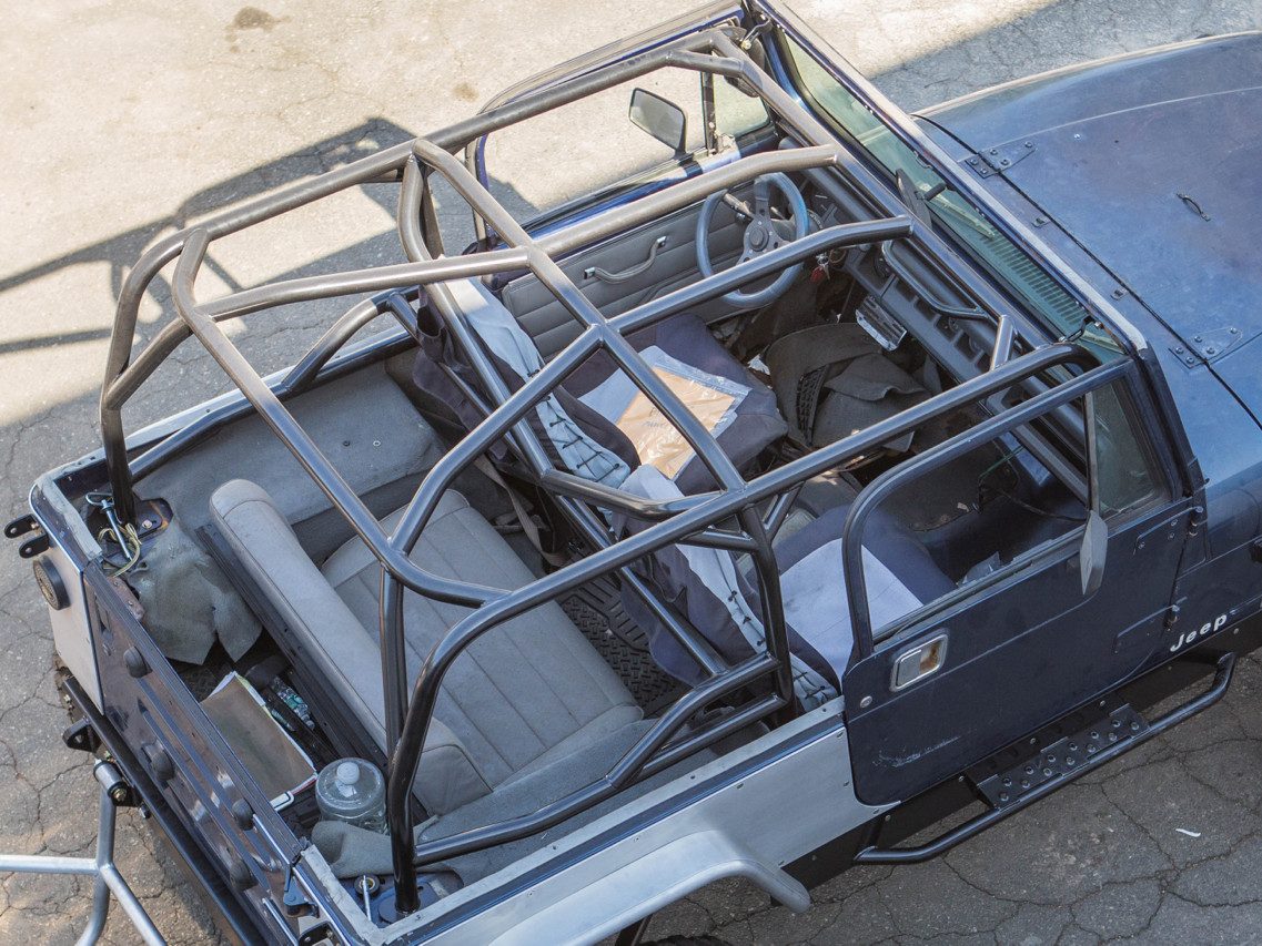 yj full roll cage kit