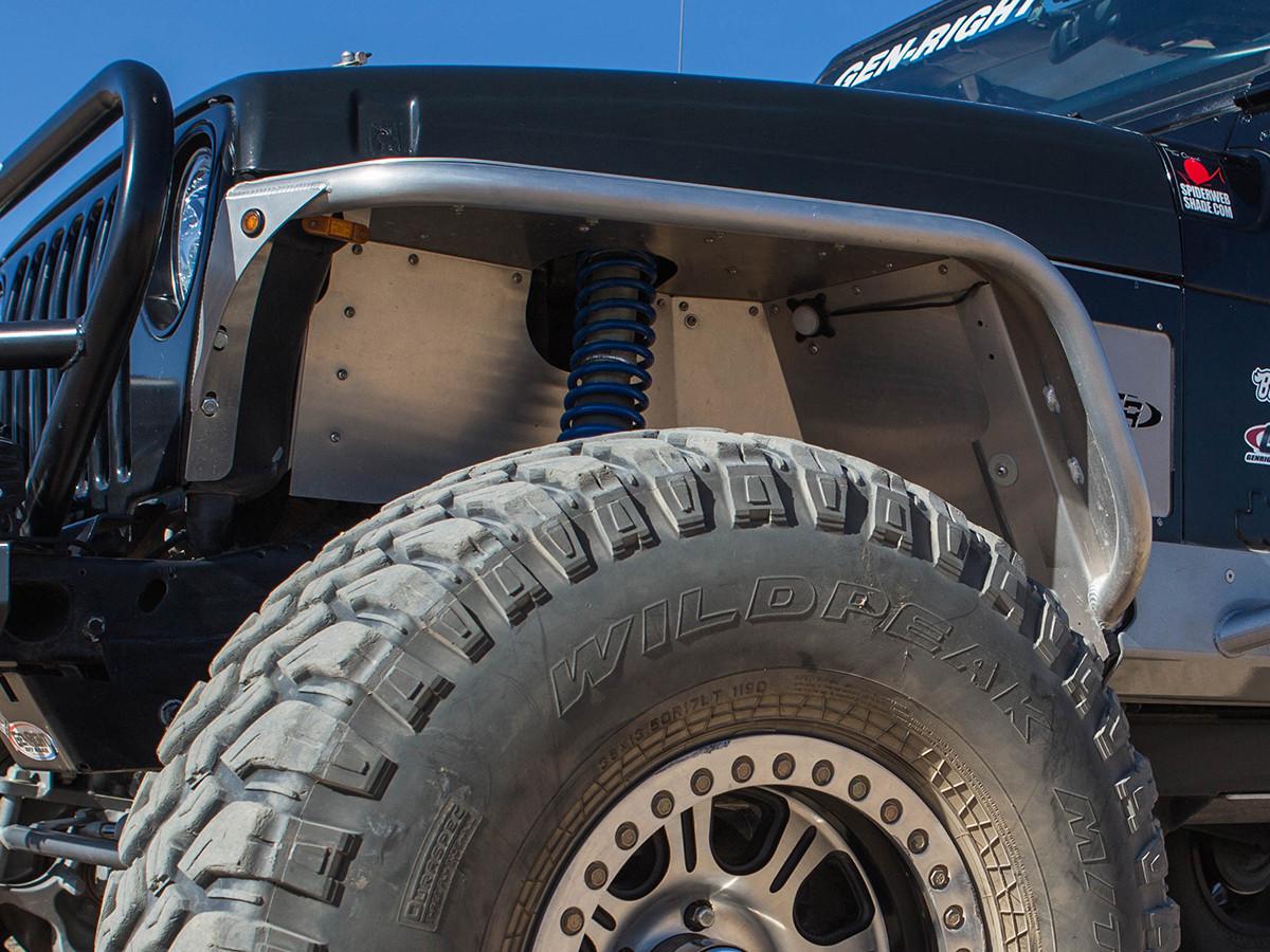 Tj Lj Standard Inner Fender Kit Genright Jeep Parts