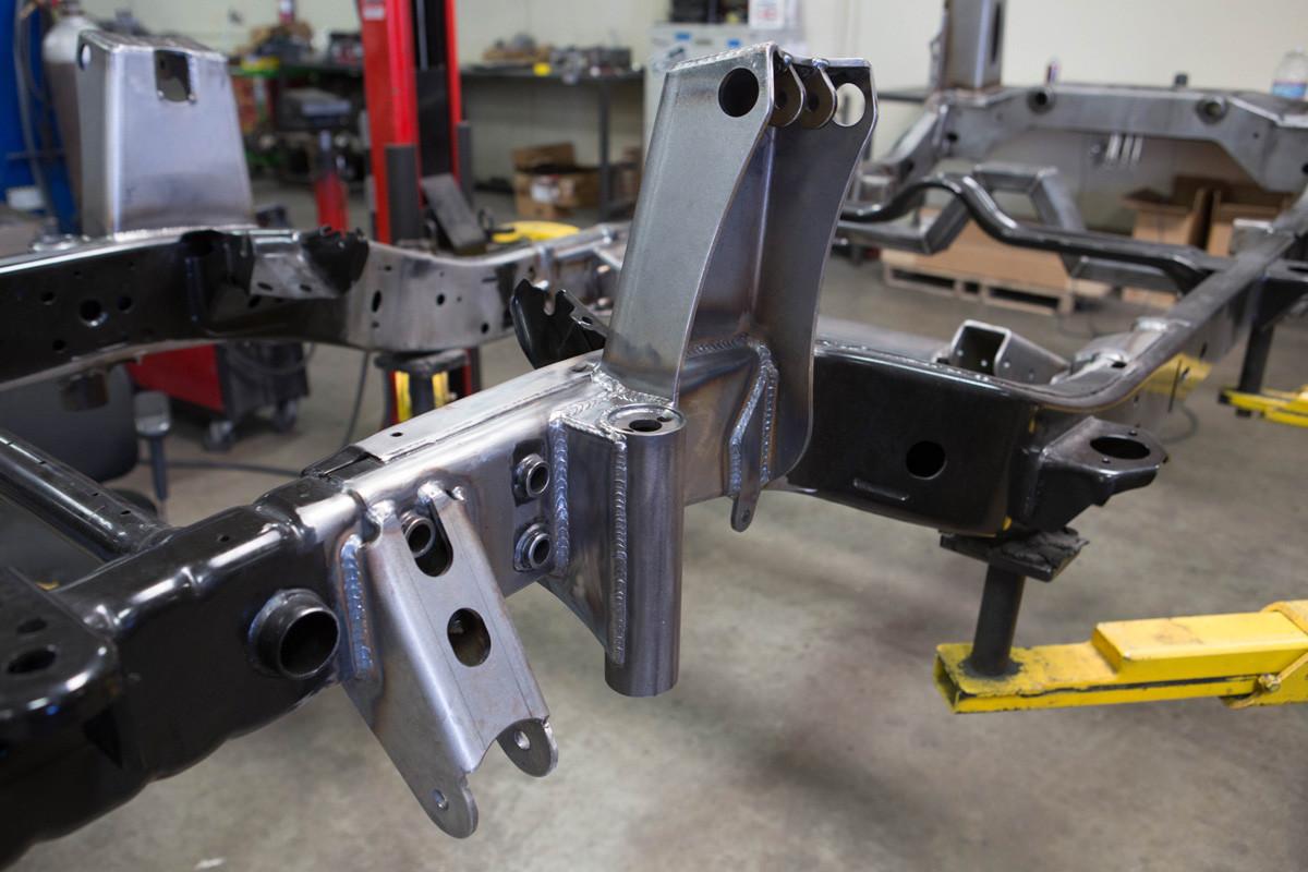 Jk Front Coilover Shock Mount Kit Genright Jeep Parts