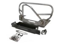 JK Stinger/Grill Guard Front Bumper - Steel
