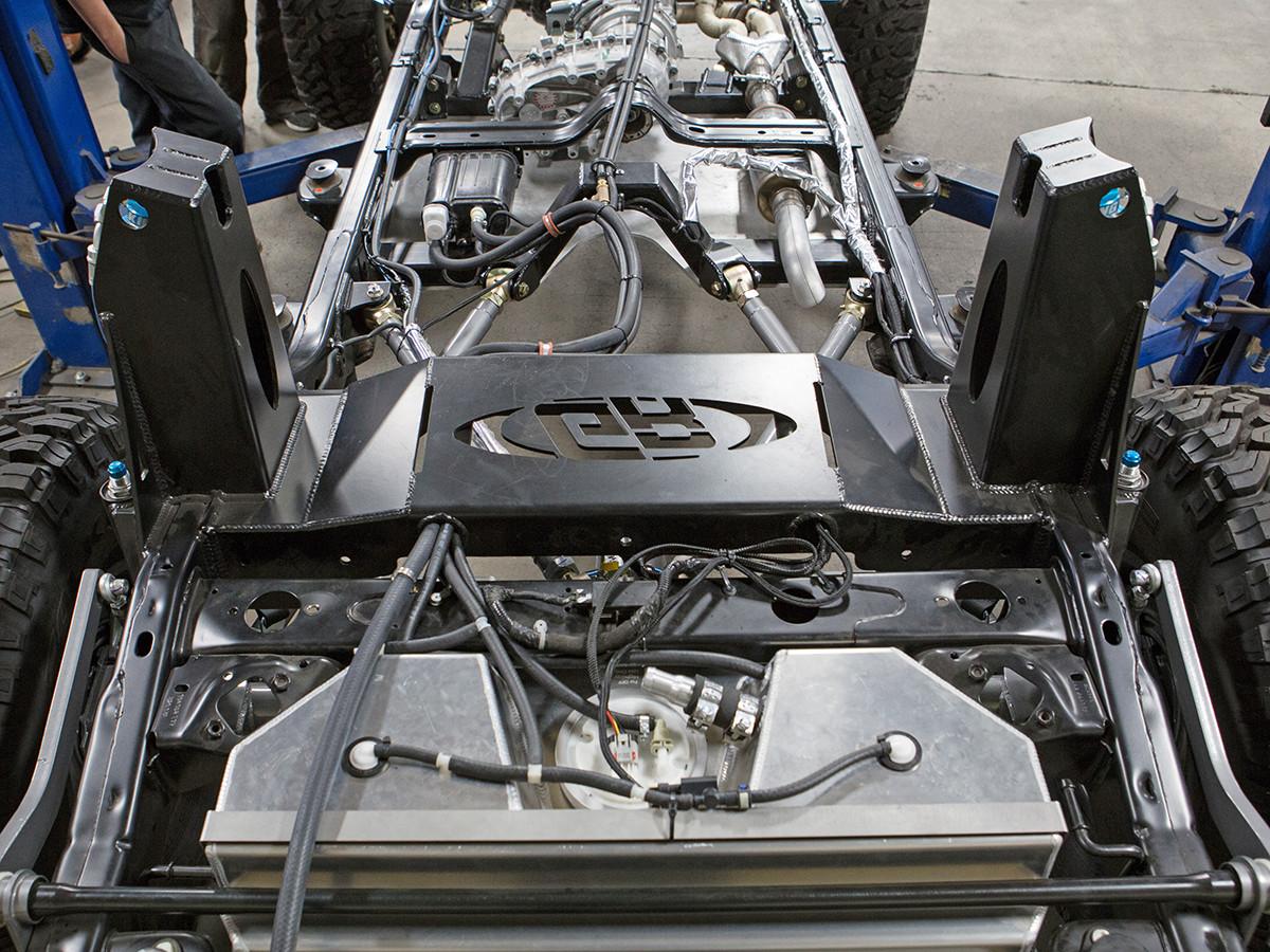 Jk Rear Coil Over Shock Mount Kit Genright Jeep Parts