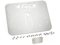 GenRight's rear cover plate and license plate mount for the center of JK tail gate
